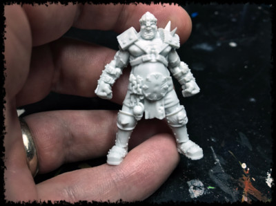 Hungry Troll Ogre Miniature #1