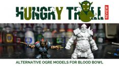 Hungry Troll Ogre Miniature Review