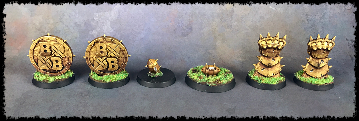 Blood Bowl Tokens #2