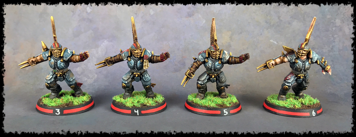 Painting Showcase: Human Blitzers #1