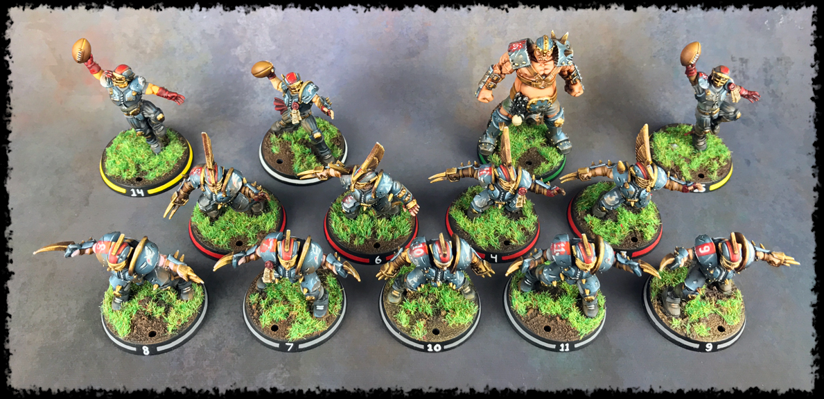 Painting Showcase: Titan Bay Thunderhawks #2