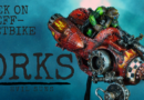Painting Showcase: Space Orks – Evil Sunz Mek on Deff-Jetbike