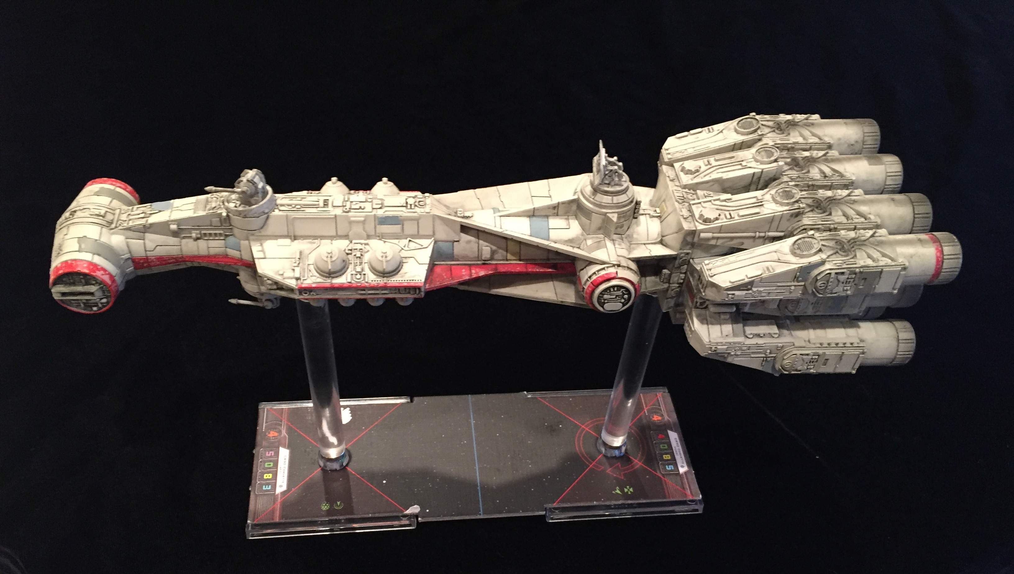 Magnetizing A Cr90 Corvette For Star Wars X Wing
