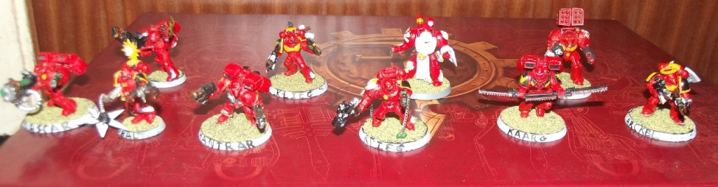 Blood Angels Characters