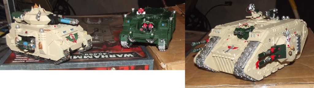 Dark Angel Vehicles