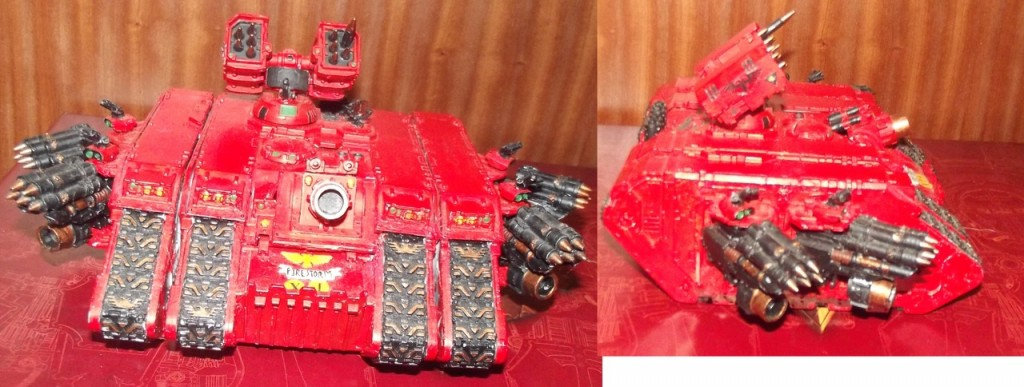 Firestorm Land Raider