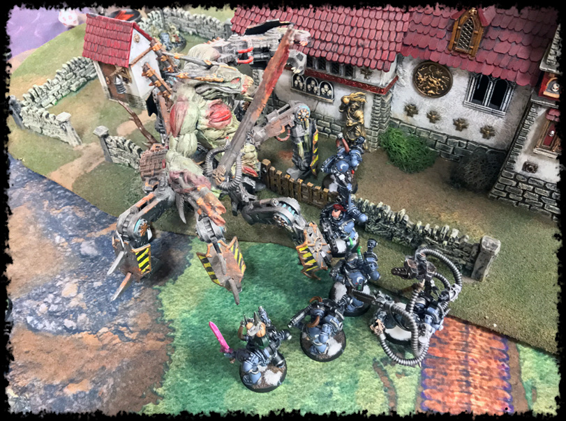 40K Battle Report