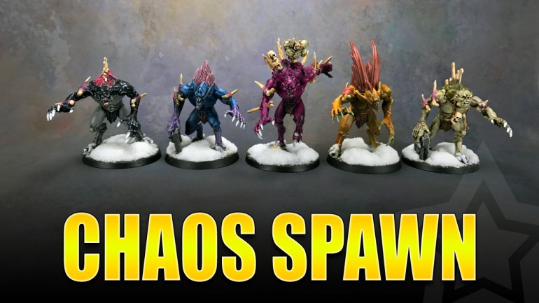 Chaos Spawn Painted