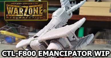 Warzone Resurrection Emancipator Aircraft WIP