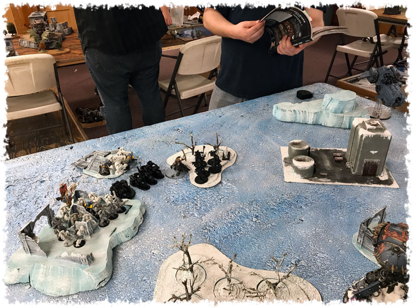 Space Wolves Deployment