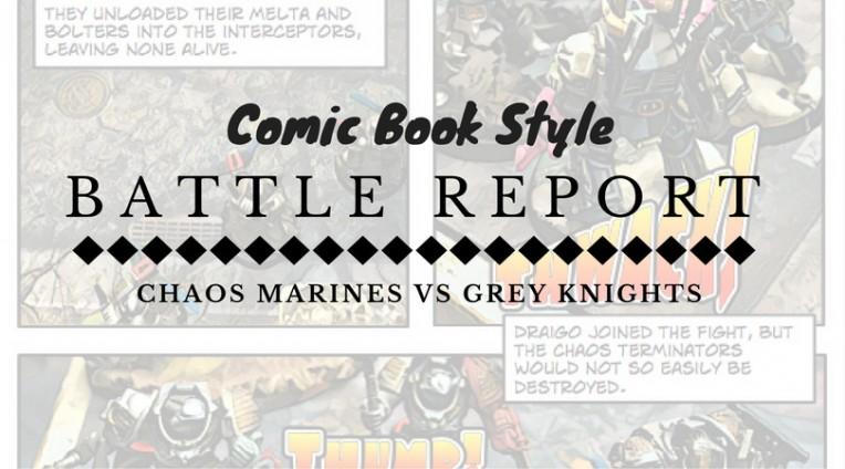 Comic Book Battle Report