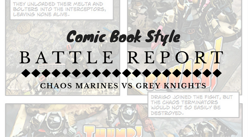 Comic Book Battle Report