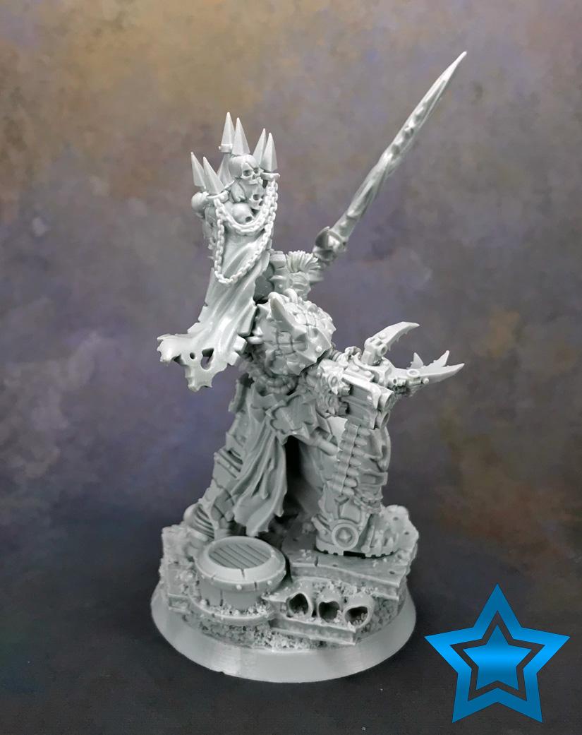 Chaos Master of Crusade (Abaddon) Miniature Review