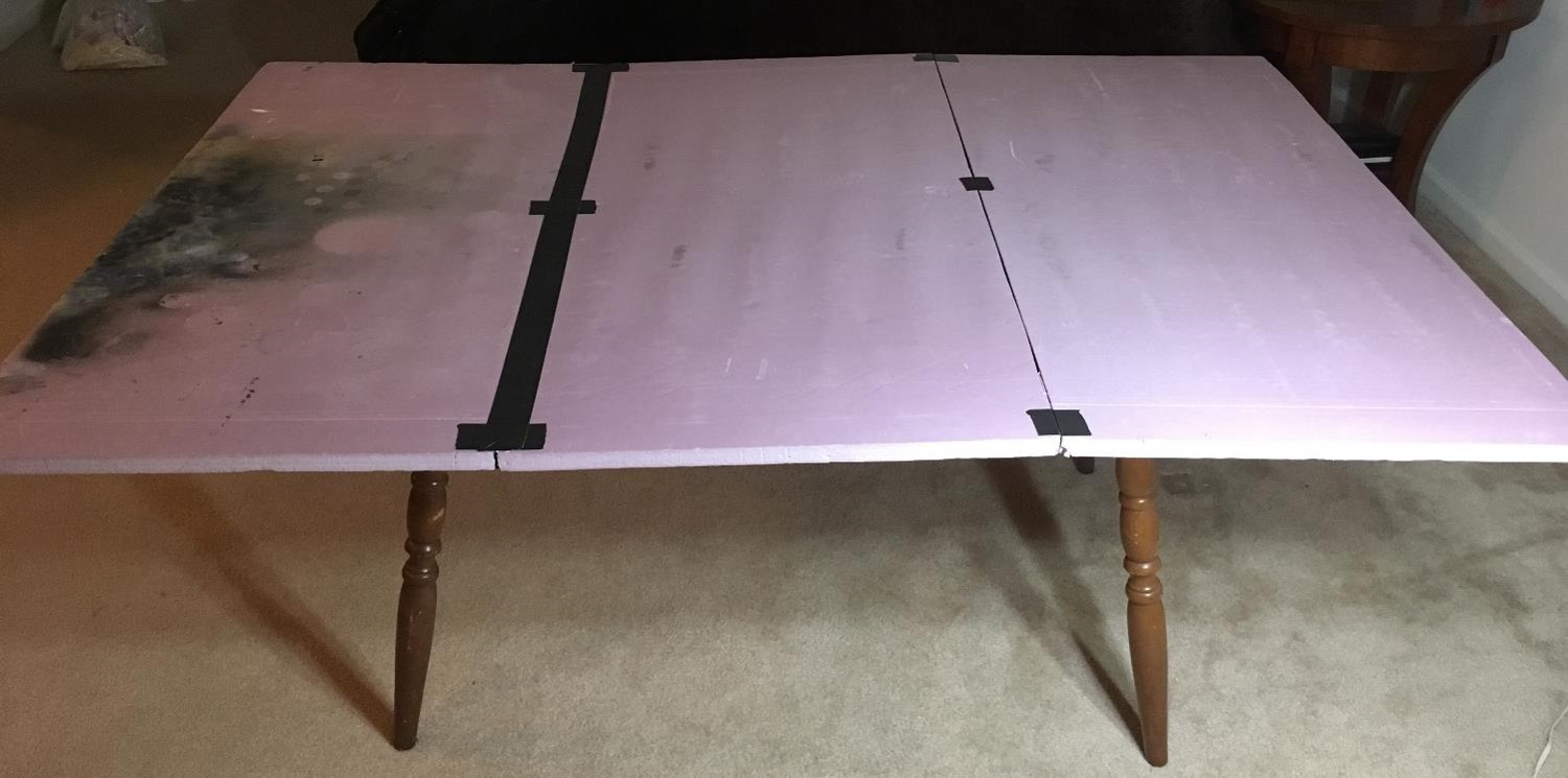 Cheap Amp Easy Wargaming Table With Simple Diy Terrain