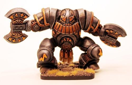 Dwarf Runic Golem #1