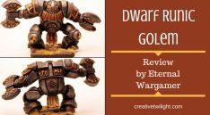 Dwarf Runic Golem