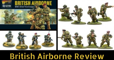 Review of Bolt Action's British Airborne, WWII Allied Paratroopers