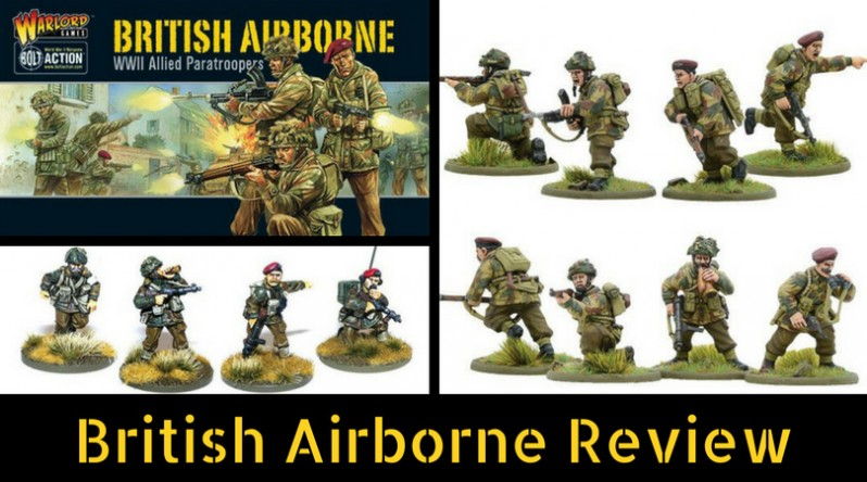 Bolt Action's British Airborne Review