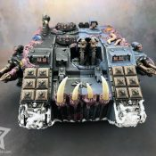 Chaos Land Raider Painted #1