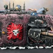 Chaos Land Raider Painted #11