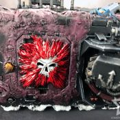Chaos Land Raider Painted #12