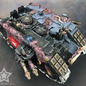 Chaos Land Raider Painted #16