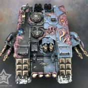 Chaos Land Raider Painted #2