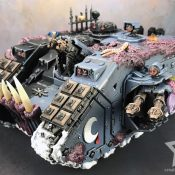 Chaos Land Raider Painted #3