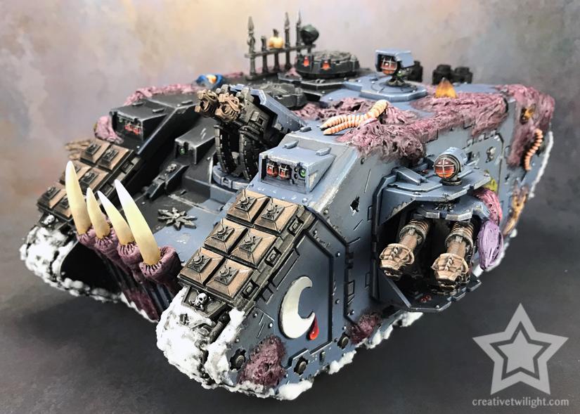Chaos Land Raider Painted #3