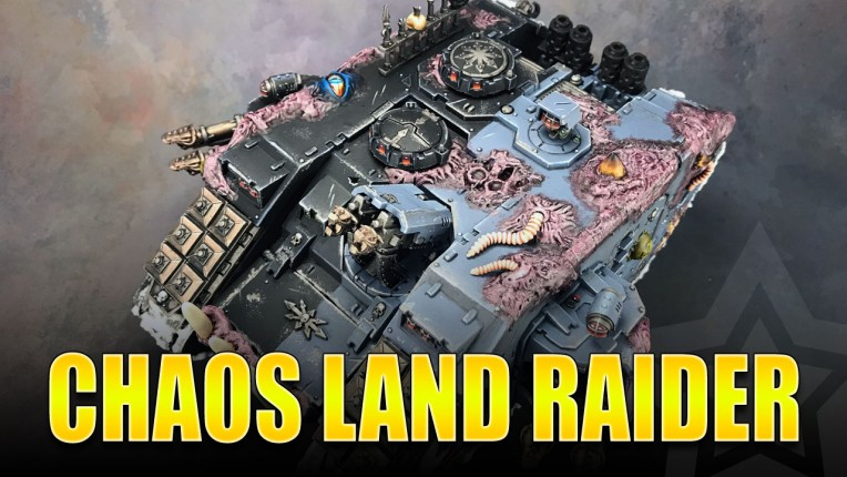 Chaos Land Raider Painted