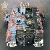 Chaos Land Raider Painted #9-2