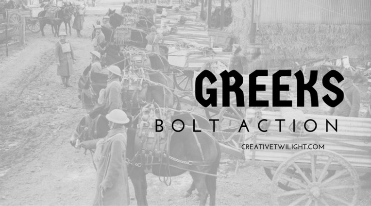Greeks - Bolt Action