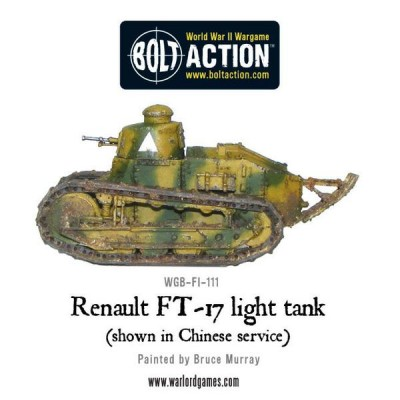 Renault FT-17 Light Tank from Warlord Games