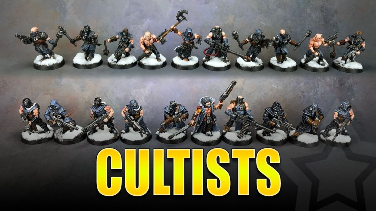 Chaos Cultists Painted
