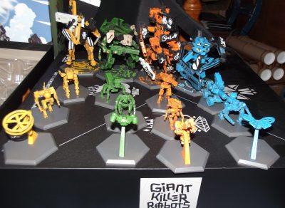 Giant Killer Robots #1