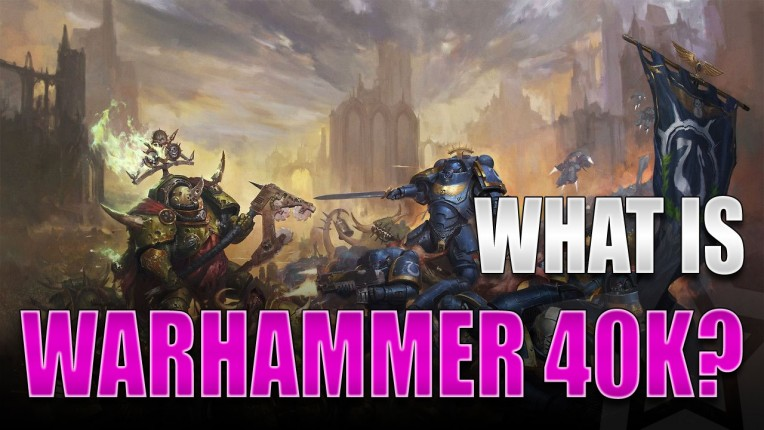 What is Warhammer-40K?