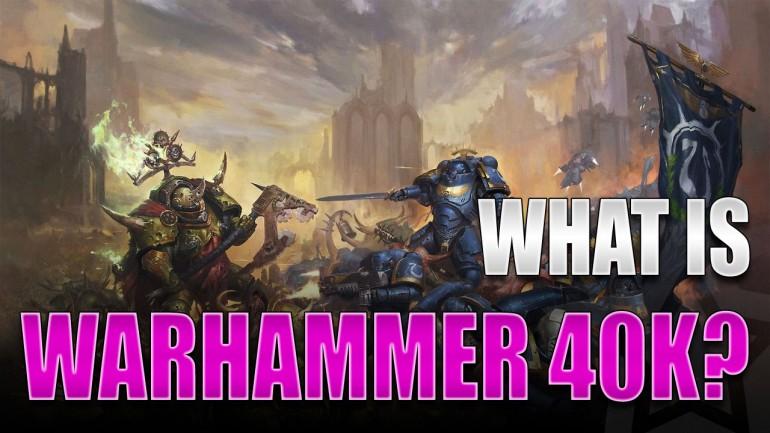 What is Warhammer-40K?