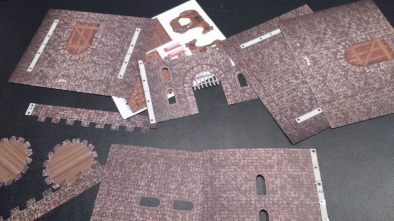 Scene-A-Rama Castle Parts