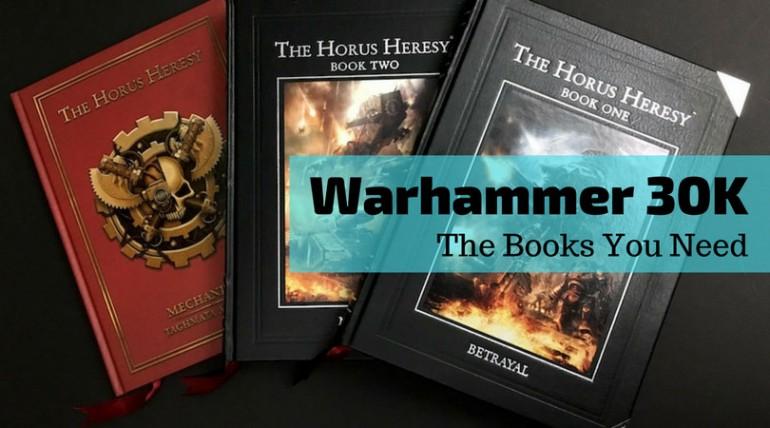 Warhammer 30K Rulebooks