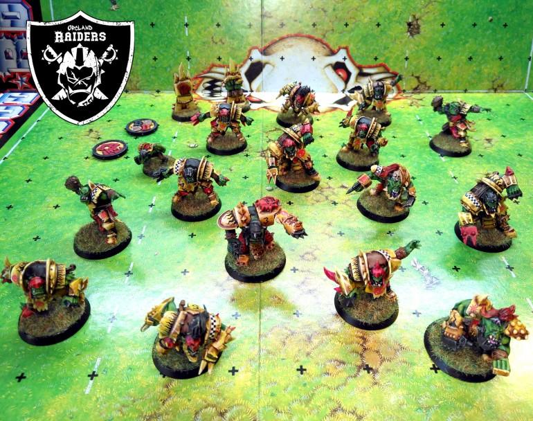 Blood Bowl Orcs