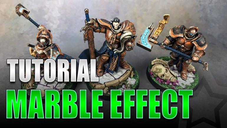 Miniature Marble Effect Tutorial