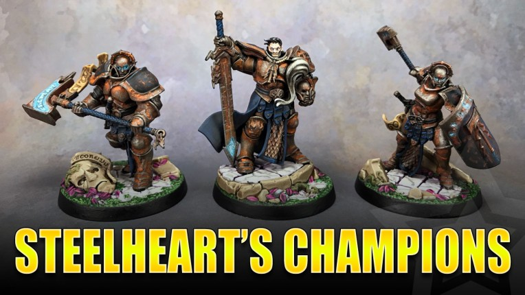 Steelheart's Champions Painted
