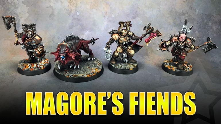 Magore's Fiends Painted