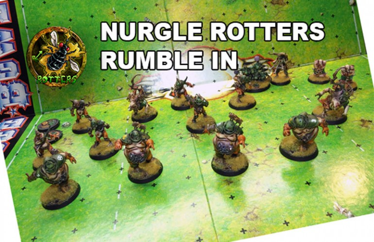 Nurgle's Rotters for Blood Bowl