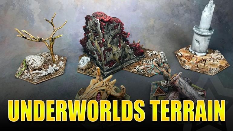 Warhammer Underworlds Scratch Built Terrain Painted