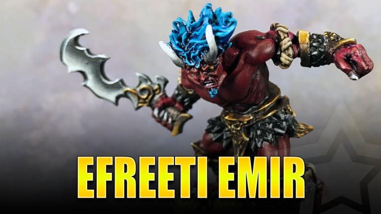 Efreeti Emir Painted