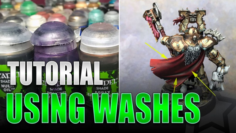 Painting Miniatures with Washes