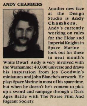 Andy Chambers - White Dwarf 125