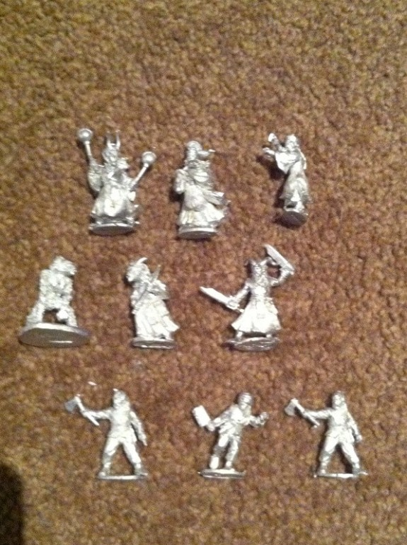Kung Fu Demon Miniatures