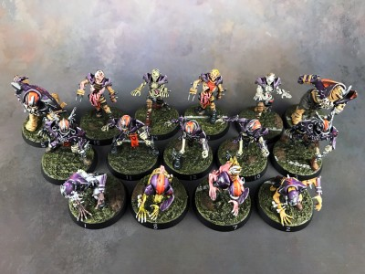 Undead Blood Bowl Team #3
